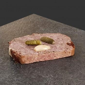 Pâté au poivre vert (250gr)  13,30 € /kg