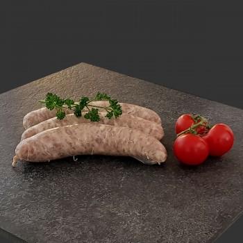 Saucisse (pièce 120gr)  12,20 € /kg
