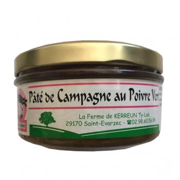 Pâté de campagne au poivre (140gr)