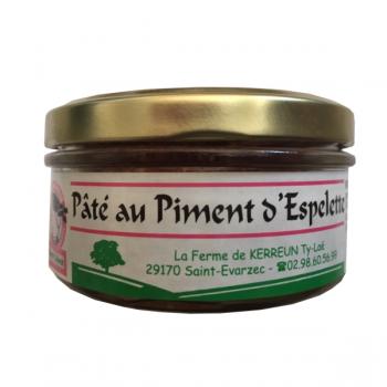 Pâté au piment d'Espelette (140gr)